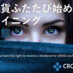 crossexchange仮想通貨ふたたびはじめよう!