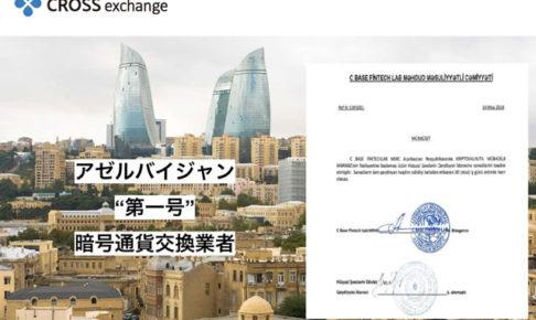 CROSSアゼルバイジャン許可証